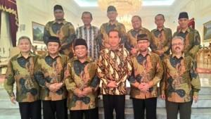 Pengurus DPP LDII Diterima Presiden Jokowi