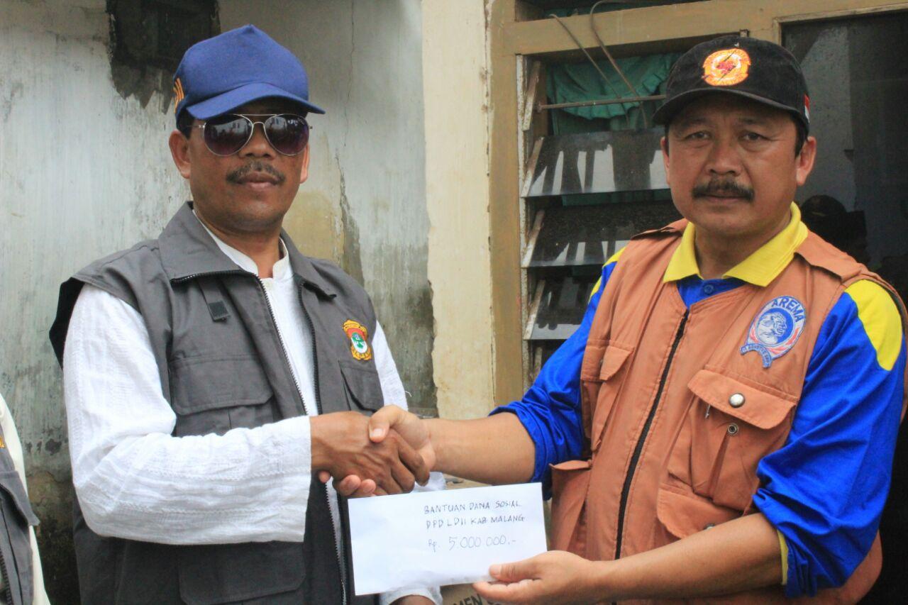LDII Membantu Bencana Puting beliung Lang Lang (3)